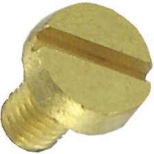 100 Schrauben M-2,3 x 4 mm Messing vergoldet - Zylinderkopf - Schlitz - HF ideal