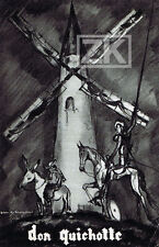 DON QUICHOTTE G.W. PABST Moulin CHALIAPINE Cervantes J-A. MERCIER Metropole 1933