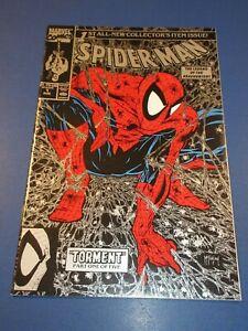 Spider-man #1 Silver/Black Variant McFarlane Series VF+ Beauty Wow JP