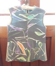 Scanlan theodore Ottoman 8 silk Top blouse dress ribbing white black green