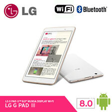 LG GPad3 V525 32Gb Wi-Fi Tablet PC Marshmallow Android 6.0 Ram 2Gb 309g [ White]