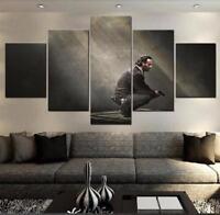 "THE WALKING DEAD ""RICK"" - 5 PIECE SET Wall Art Canvas poster"