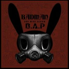 K-POP B.A.P (BAP) 3rd Mini Album [BADMAN] CD + Booklet + Photocard Sealed