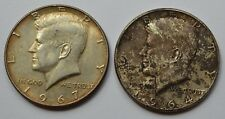 2 X USA Coin 1964/7 One Dollar American Collectors Two Coin