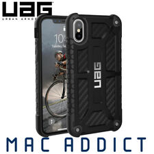UAG Monarch Premium Rugged Protective Case For iPhone X / XS - Carbon Fibre