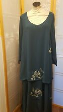 NWOT Meng Designs Rayon Batik Dress L Large GORGEOUS