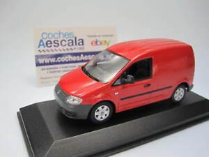 Volkswagen Caddy 2005 red  - minichamps 1/43 cochesaescala