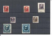 Bayern 1914-1920, Einzelmarken zur Auswahl, Michelnrn.: 94 I - 195 o, gestempelt