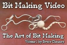 Bit Making Video DVD Volume 1 How to Make Handmade Horse Bits (Shank Bits)