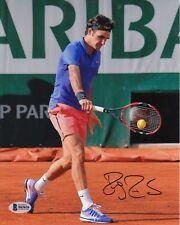 Roger Federer #10  8x10 Signed 8x10 Photo Beckett Certified Tennis-Men 082618