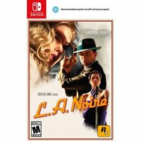 L.A. Noire (Nintendo Switch) Brand New Factory Sealed