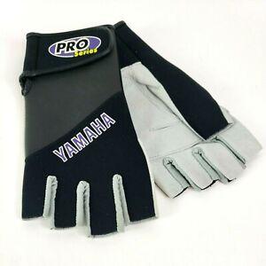 Yamaha Men's Fingerless Gloves Motorcycle sport leather half finger gloves