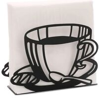 Modern Decorative Paper Napkin Holder for Kitchen Countertops (Coffee Cup) NEW