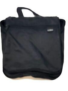 LL BEAN Small Personal Organizer Toiletry Travel Hanging Tote Bag Black