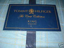 NEW TOMMY HILFIGER JEWELED TAPESTRY KING  BED SKIRT