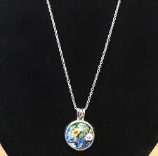 Interchangeable Murano Glass Pendant / Necklace BNIB