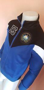 EL SALVADOR Soccer Blue Full Zip Windbreaker Jacket Men's