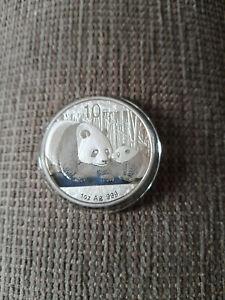 2011 1oz CHINESE PANDA SILVER COIN (See Description)