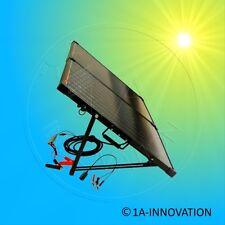 Solarkoffer mit Aufständerung 100 Watt mono Solarmodul 2 x 50 Watt Camping