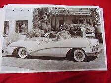 1954  BUICK SKYLARK  CONVERTIBLE   11 X 17  PHOTO  PICTURE