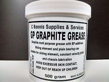 GP GRAPHITE GREASE CONSTANT VELOCITY CV JOINTS STEERING SUSPENSION 500g TUB