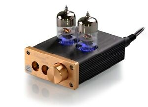 Nobsound NS-08E Mini Vacuum Tube Amp 6J9 3.5mm Headphone Stereo Audio Preamp