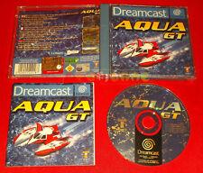 AQUA GT Sega Dreamcast Dc Versione Europea PAL ○ COMPLETO