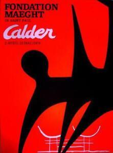 Alexander Calder, Fondation Maeght, Poster