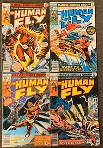 The Human Fly #1,2,3,5 Marvel Comics 1977 Ghost Rider Lot