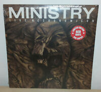MINISTRY - LIVE NECRONOMICON - RED - ONLY 500 COPIES - 2 LP