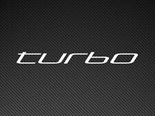 turbo Car Sticker Vinyl Decal JDM, Impreza, Supra, Skyline, Silvia, Porsche