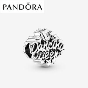 ALE S925 Genuine Silver Pandora Openwork Dancing Queen Charm With Gift Box