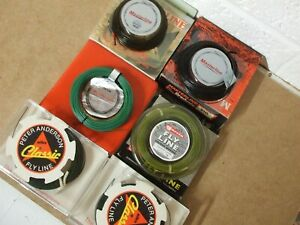 6 off Rare new unused Trout fly lines in original boxes.  ***UNIQUE *****