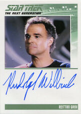Star Trek TNG Portfolio Prints S1 Autograph Card Rudolph Willrich as Grax