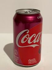 Empty Unopened Factory New Cherry Coke Can
