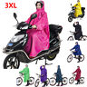 Waterproof Bike Outdoor Cycling Raincoat Rain Proof Cape Poncho Coat Hooded