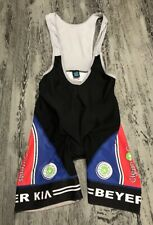 SQUADRA Team Sport Triathlon Skin Cycling Jersey Bib Shorts Men L One Piece