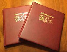 COMPLETE COLLECTIE KINDERPOSTZEGELS 1924-1996 POSTFRIS IN 2 SPECIALE ALBUMS