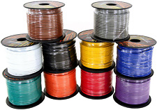 GS Power 14 Gauge Copper Clad Aluminum Primary Low Voltage Wire in 10 Colors | |