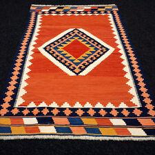 Orient Teppich Kelim 135 x 88 cm Kilim Perserteppich Handgewebt Carpet Rug Tapis