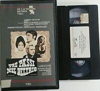 Tre passi nel delirio - (Fellini / Malle / Vadim) - VHS ex noleggio - Ricordi
