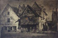 Vieille maison Quimperlé Gaston Ernest 1885-1917 Bretagne 15 place Saint-Michel