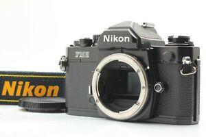 Rare [Near MINT S/N:865xxxx] Late Model Nikon New FM2 Black 35mm SLR From JAPAN