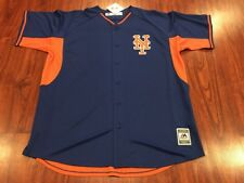Majestic Men's New York Mets Batting Practice Jersey XL Extra Large MLB
