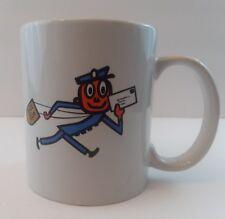 MR. ZIP US Postal Mail Carrier Coffee CUP MUG, USPS Post Office Govt Advertising