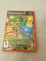 Buzz Junior Monster Rumble Playstation 2 PS2 PAL Kids Educational Game
