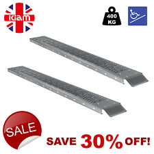 SET OF TWO Heavy Duty Loading Ramps  WHEEL CHAIR SCOOTER RAMPS 1.85m 400kg