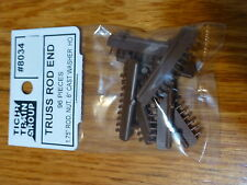 Tichy Train Group HO #8034 End Bolt Detail for Freight Cars w/Truss Rods -- 1.75