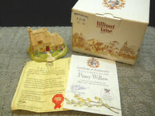 Lilliput Lane Pussy Willow Collectors Club Membership Symbol 1992 Nib Deeds #595