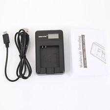 NB-4L NB-8L Camera Battery Charger with Screen for Canon IXUS 230 115 HS E0Xc